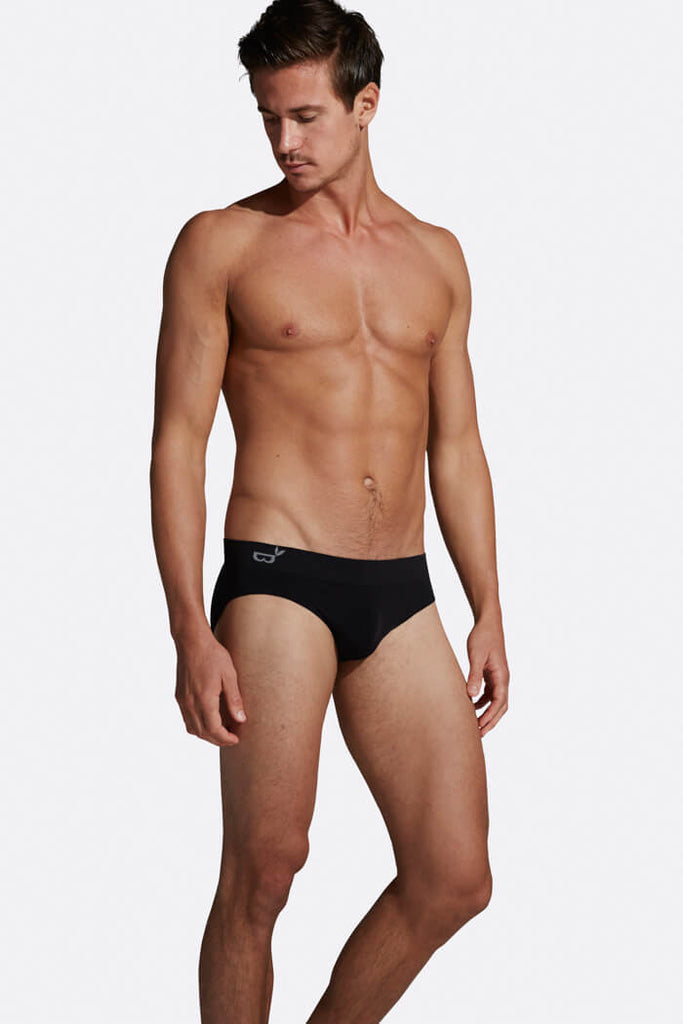 Men's Black Briefs - Boody Organic Bamboo Eco Wear