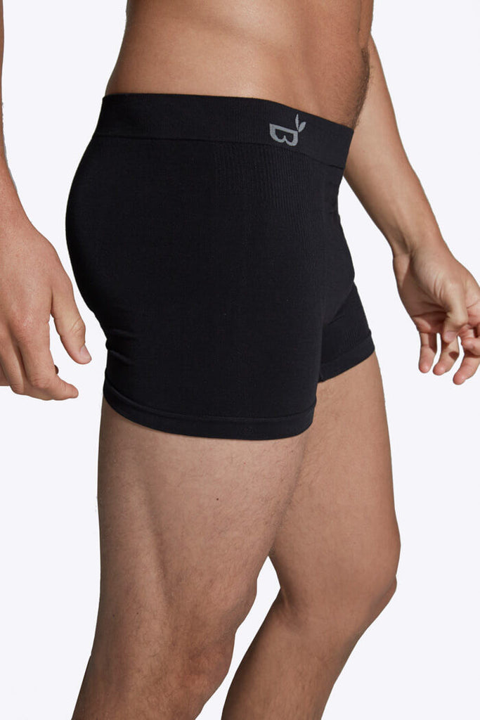 Black Men's Boxers - Boody Organic Bamboo Eco Wear
