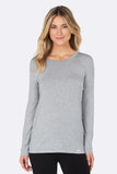 Women's Long Sleeve T-Shirt - Boody Organic Eco Wear
