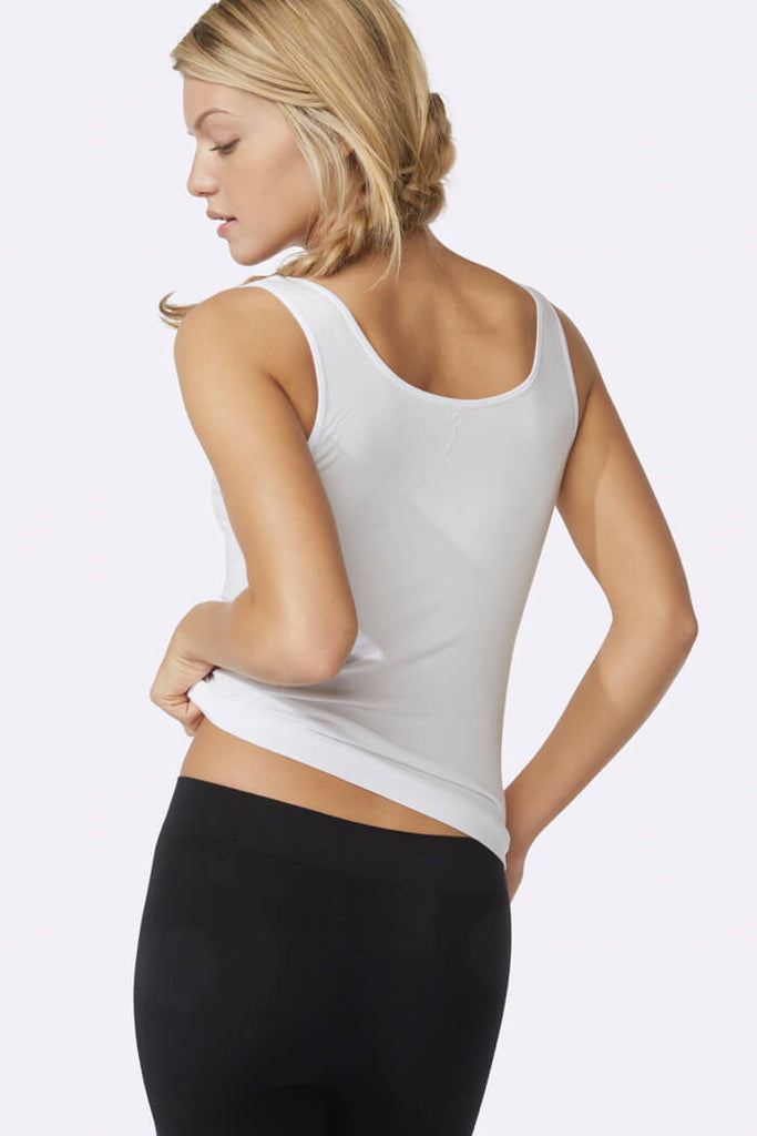 Women's Tank Top White - Boody Organic Bamboo Eco Wear