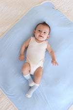Baby Sleeveless Bodysuit Neutral - Boody Organic Bamboo Eco Wear