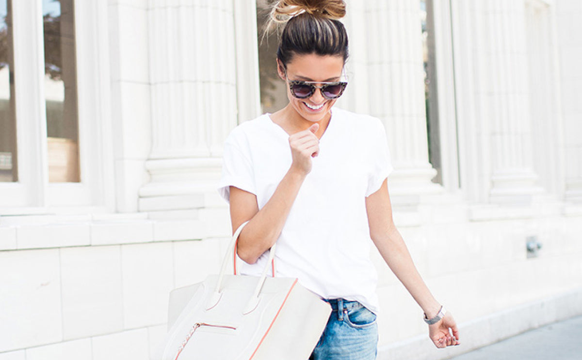 FOUND: The Ultimate White Tee