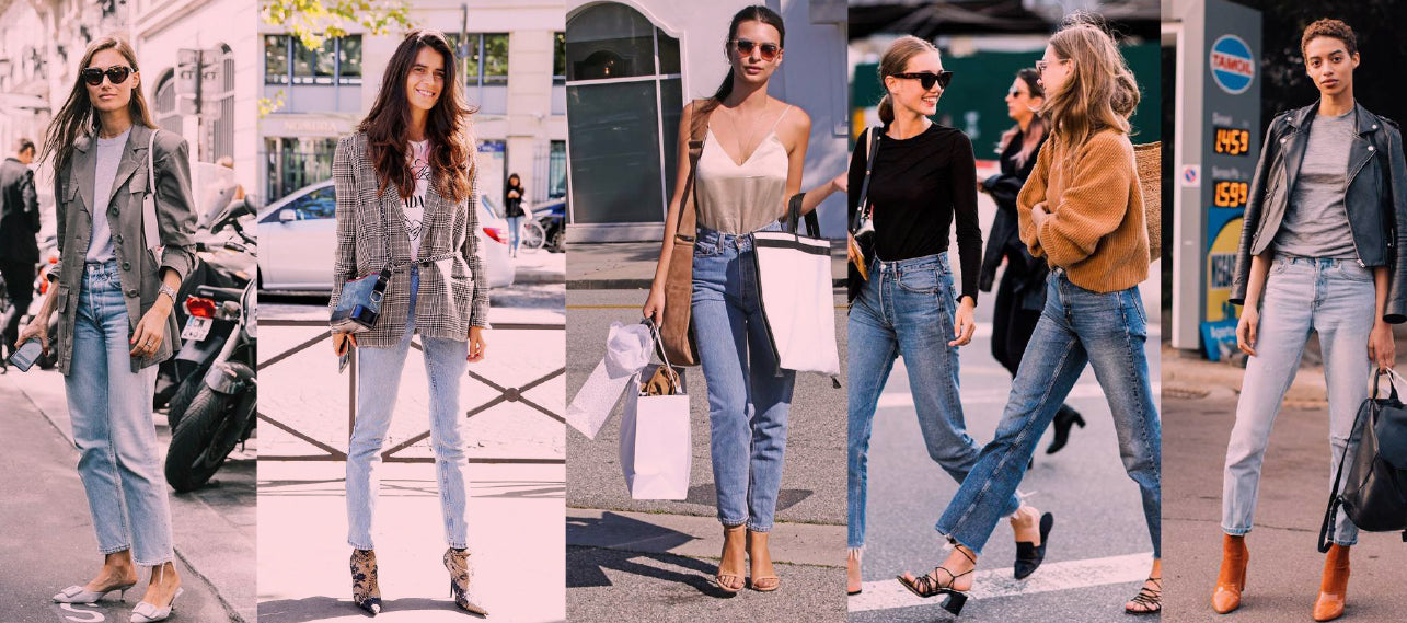 It's Official: Straight-Leg Jeans Are The Cut Of The Season!
