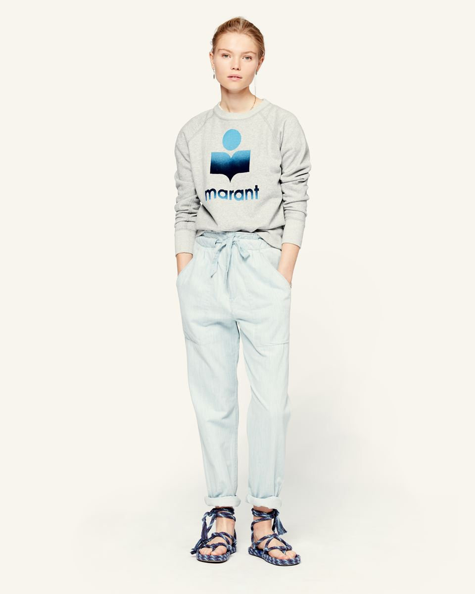Isabel Marant Muardo Pants - Light Blue