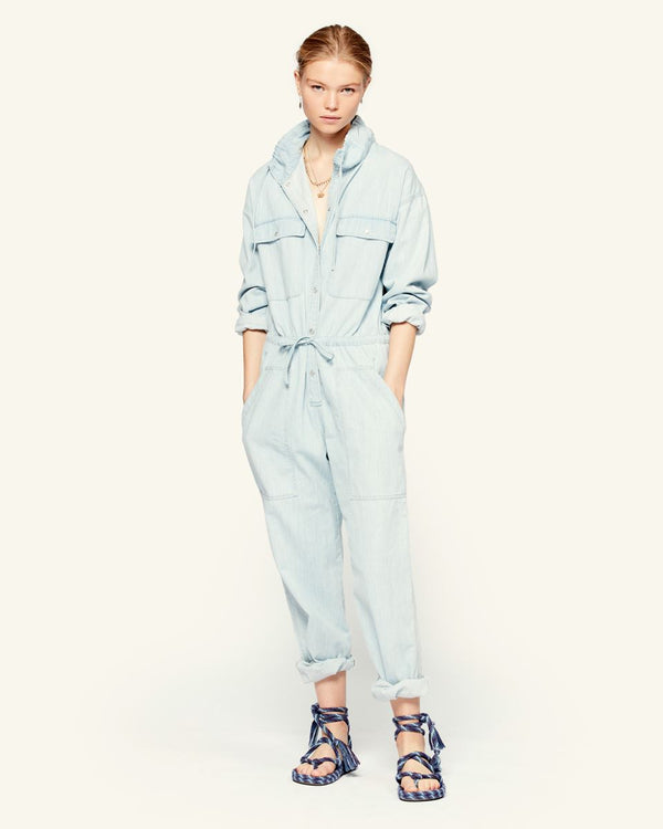 Isabel Marant Marvin Jumpsuit - Light Blue