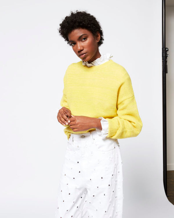 Isabel Marant Gatliny Sweater - Yellow