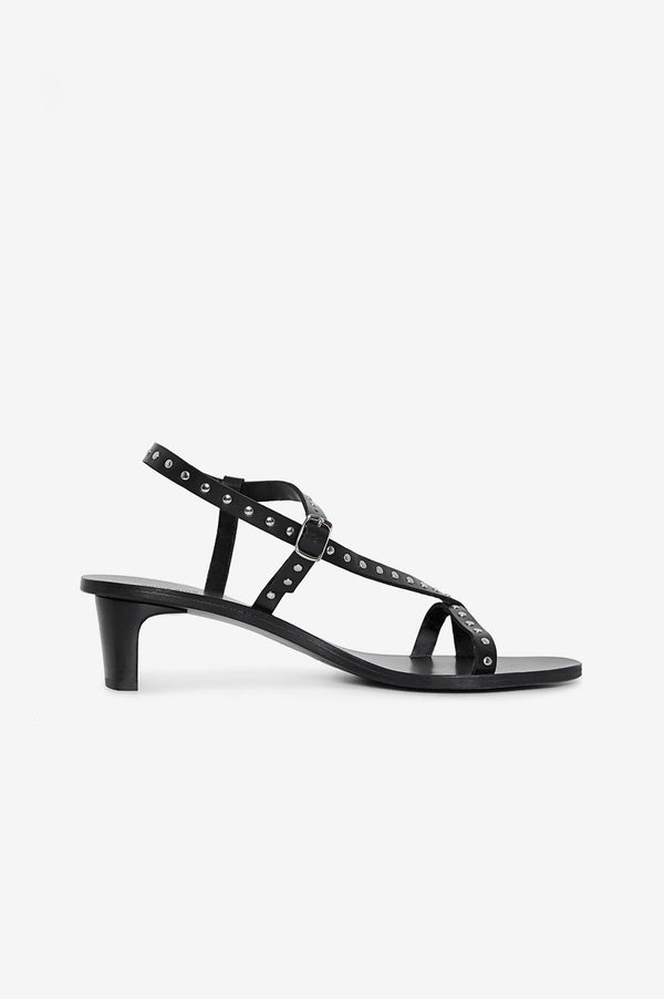 Anine Bing Remi Sandals - Black