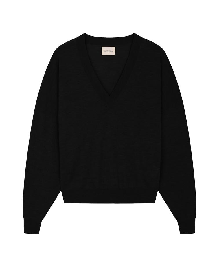 LouLou Studio Hakueru Sweater - Black