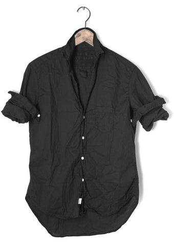 Frank & Eileen 'Eileen' Shirt - Black, Light Poplin