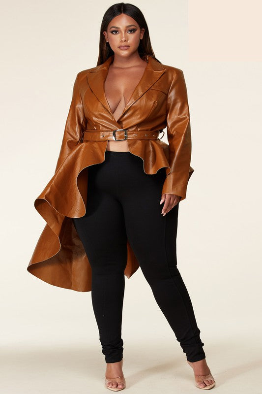 Darling Peplum Jacket
