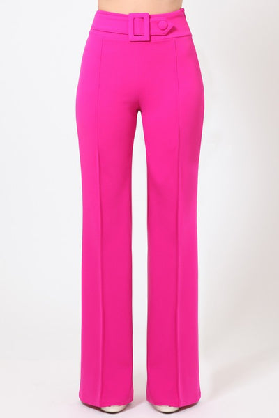 Fuschia Pants