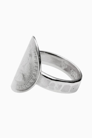 Bent Coin Ring 3P