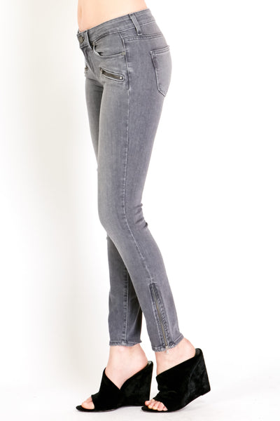 Jane Zip Ultra Skinny Silvie No Whiskers