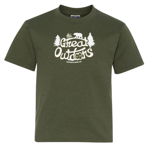 Kids The Great Outdoors T-Shirt