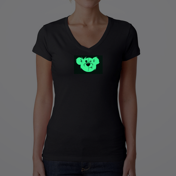 Women's Big Bear Sporty V T-Shirt