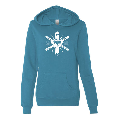 "Women's ""Be The Snow"" Hoodie"