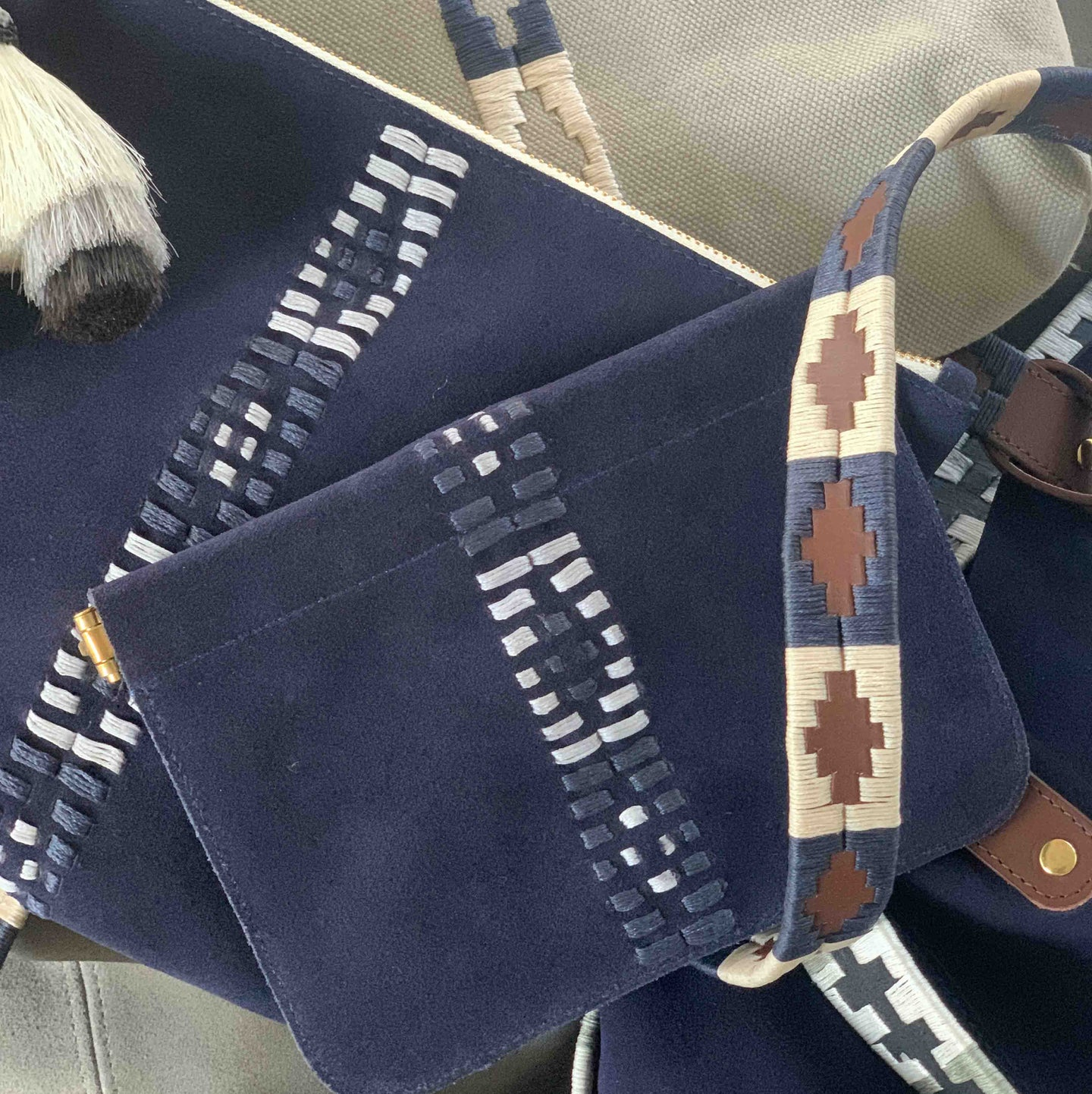 POLO INSPIRED EMBROIDERED BAGS & ACCESSORIES