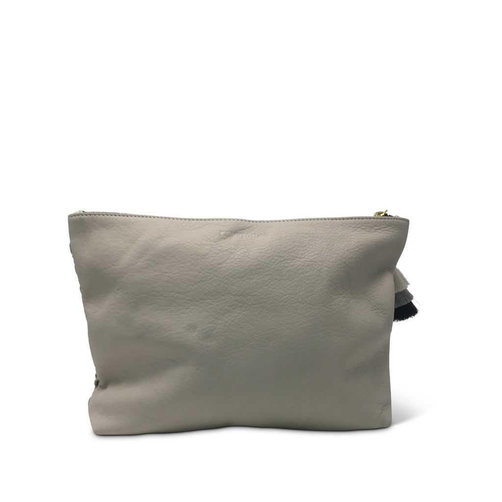 Tresco Medium Pouch - Butter & Chalk