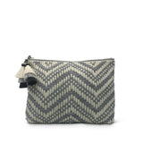 Tresco Medium Pouch - Smoke & Chalk