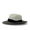 Panama black and white hat