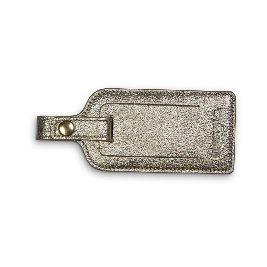 "Leather Luggage tag - ""Get Lost"""