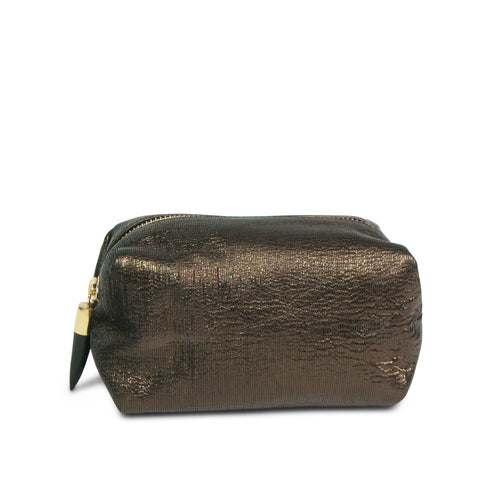 Kempton & Co. Mini Pouch Metallic Rain Gold