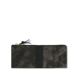 Distressed Brown Skinny Pouch