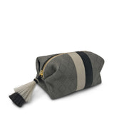 Diamond Perf Cosmetic Case - Storm Grey