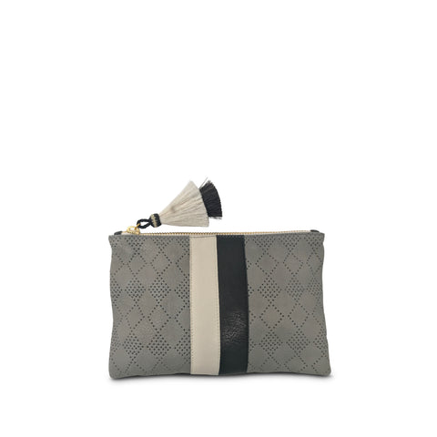 Tresco Small Tote - Chalk & Smoke