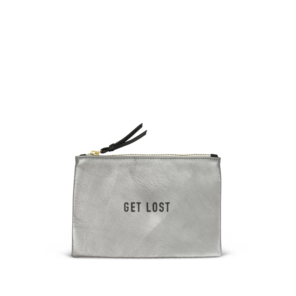 """Get Lost"" Small Pouch"
