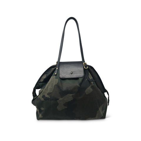 Henley Fold Up Bag - Plaid
