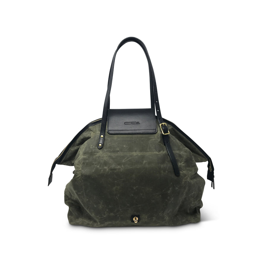 Henley Fold Up Bag - Olive