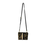 Nottingham Crossbody - Charcoal Gold Camo