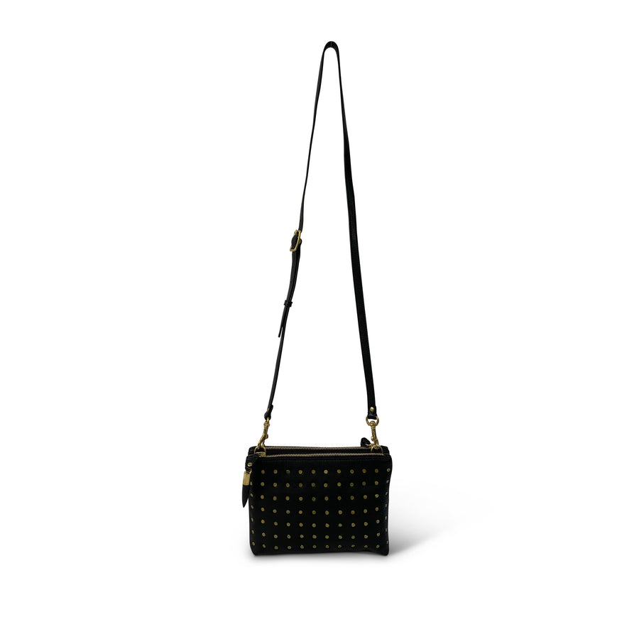 Nottingham Crossbody - Brass Studs