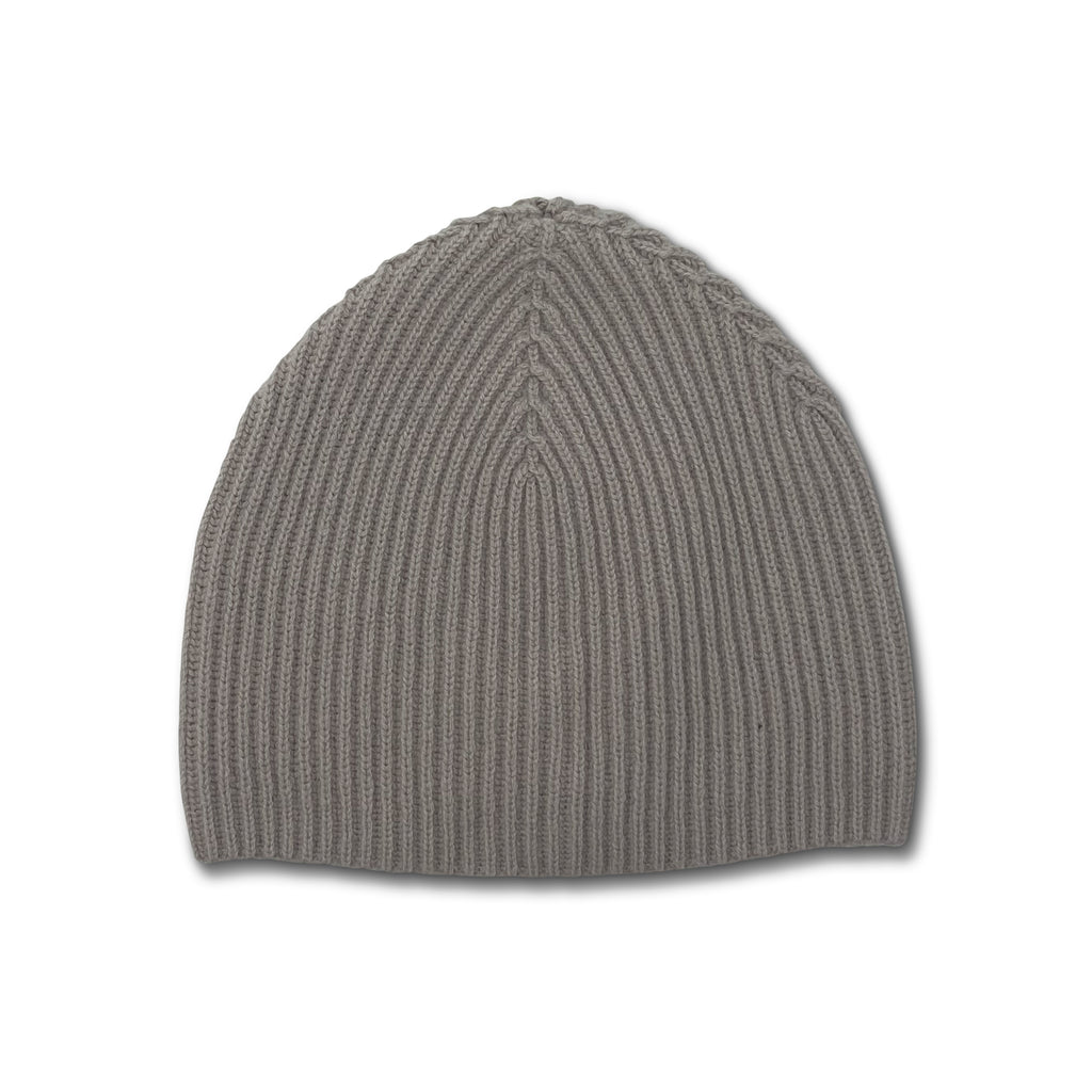 Jumper Ribbed Beanie Hat - SNOW
