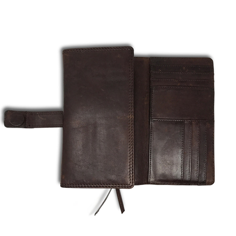 Kempton & Co. Windsor Wallet - Brown