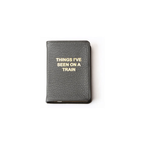 Kempton Leather Luggage tag - Tolkein quote