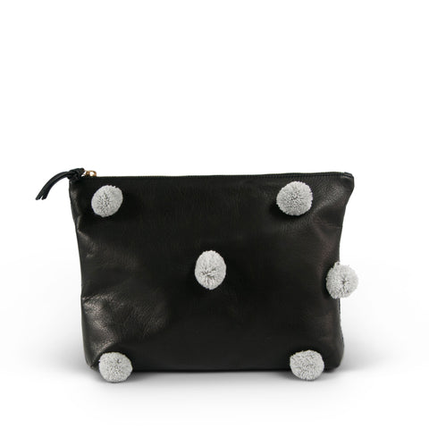 SAMPLE SALE 2019 - Camo Suede Clutch (ALL SALES FINAL)