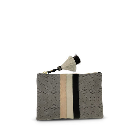 Blush, Olive and Grey Bag Strap