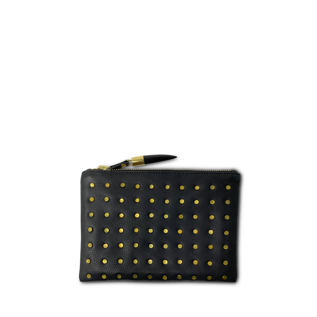 Brass Stud - Small Pouch