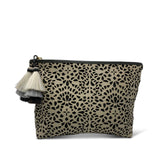 Leather Cutout Medium Pouch