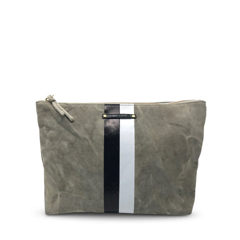 Metallic Grit Small Pouch