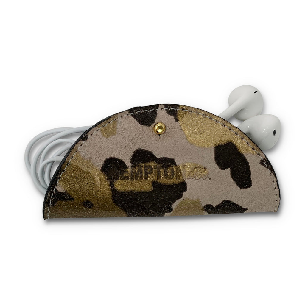 Blush Camo Electronic Cord Holder