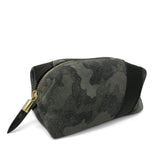 Camo Suede Cosmetic Case