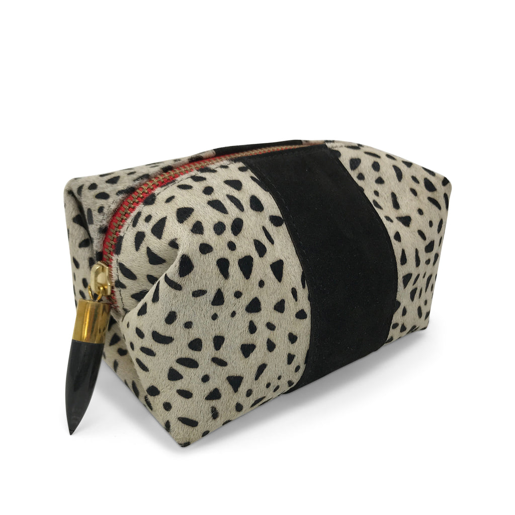 Cheetah Print Cosmetic Case