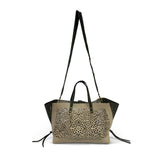 Cutout Leather Kingsbridge Tote