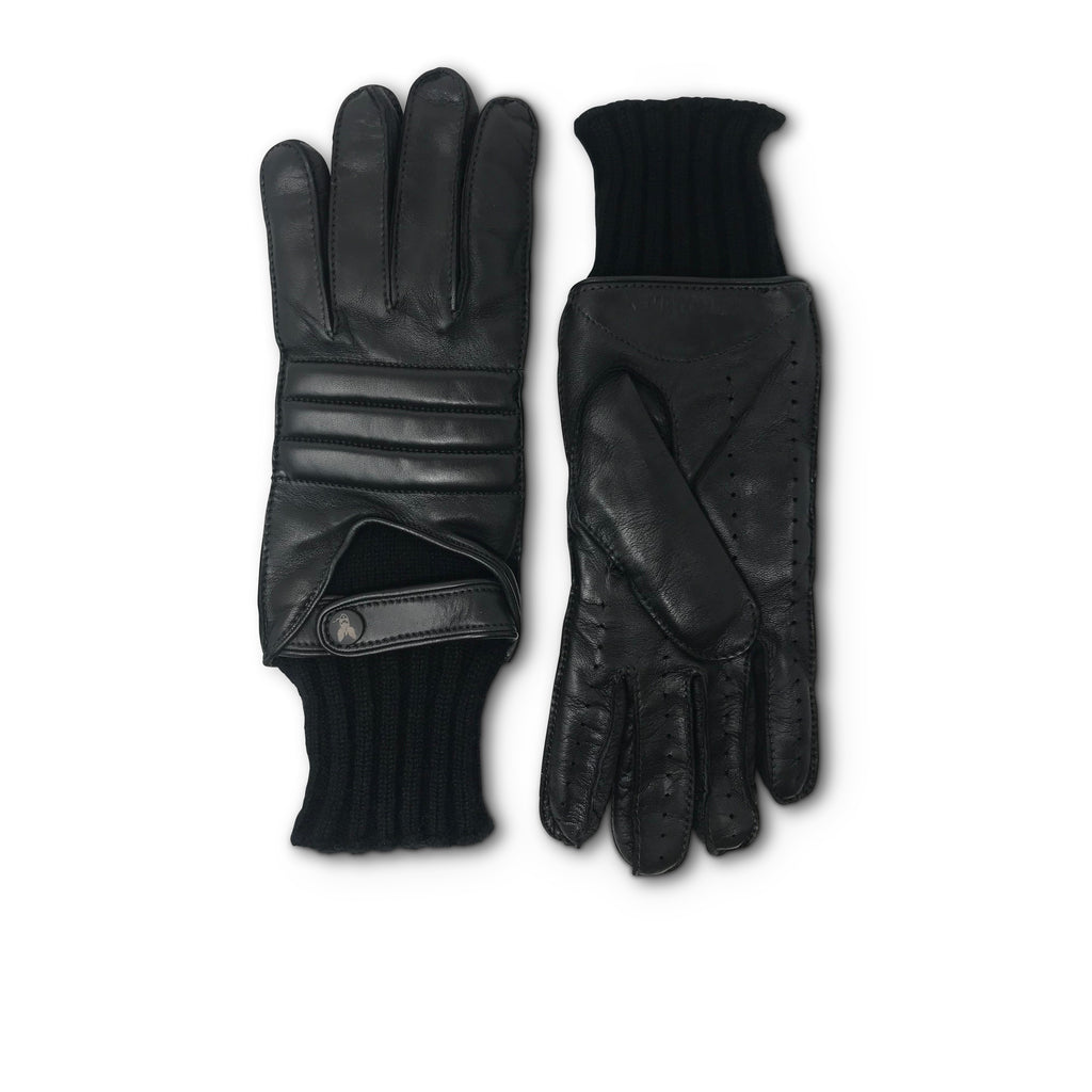Kempton & Co. Le Mans Racing Glove - Charcoal Black