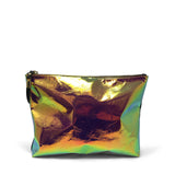 Iridescent Leather Medium Pouch