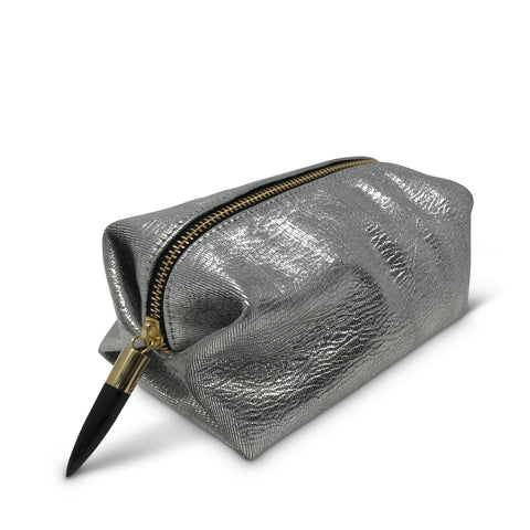 Navy/Silver Cosmetic Case