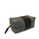 SS Cosmetic Case - Storm and Black Suede